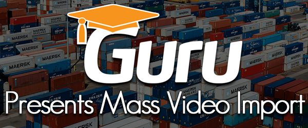 Mass Import Videos and Create Lessons Automatically