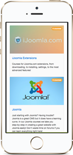Joomla LMS Teacher Interface