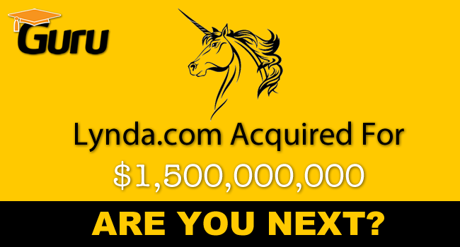 Lynda.com Acquired For $1,500,000,000. Are You Next?