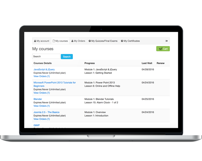 Joomla LMS : The Best eLearning for Joomla - Guru -