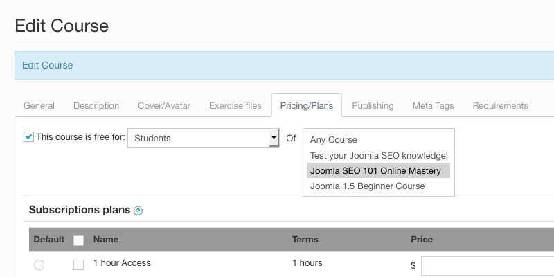 Free Courses - Joomla LMS - LMS for Joomla eLearning